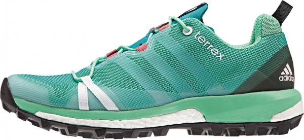 Adidas Terrex Agravic woman shock green/white/super blush