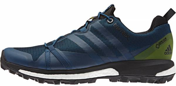 Adidas Terrex Agravic GTX men tech steel/craft blue/unity lime