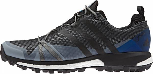 Adidas Terrex Agravic GTX men vista grey/black/shock blue