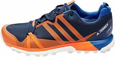 Adidas Terrex Agravic GTX - Col. Navy/Orange/Blue Beauty
