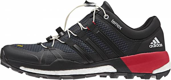 Adidas Terrex Skychaser men black, dark grey, power red