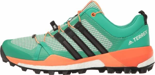 Adidas Terrex Skychaser woman core green/black/easy orange