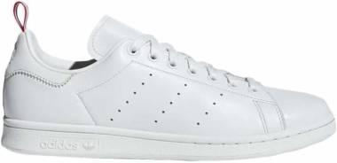 Adidas Stan Smith - White Crystal White Ftwr White Scarlet Crystal White Ftwr White Scarlet (BD7433)