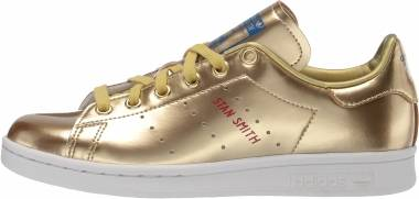 Adidas Stan Smith - Gold Metallic/Gold Metallic/Crystal White (FW5364)