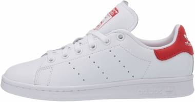 Adidas Stan Smith - Footwear White / Footwear White / Lush Red (EF4334)
