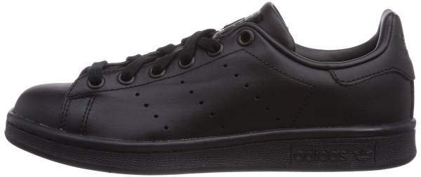 reputable site 2bef9 5937d Adidas Stan Smith Black
