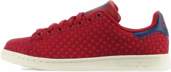 save off c1a3e bf13e adidas-originals-stan-smith-woven-mens-shoes-uk-6-5-red-dark-blue -b80d-600.jpg