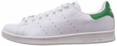 Adidas Stan Smith - White Chalk White Green (B24704)