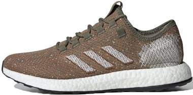 Adidas Pure Boost - Army Green/Orange/White
