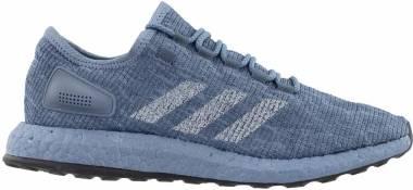Adidas Pureboost - Gris (Raw Steel S18/Lgh Solid Grey/Clear Mint) (CM8303)