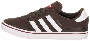 Adidas Busenitz Vulc ADV - Brown / Footwear White / Collegiate Burgundy (BY3974)