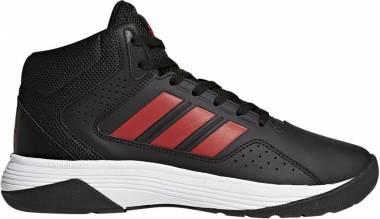 Adidas Cloudfoam Ilation Mid - Black/Scarlet/Utility Black