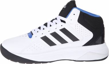Adidas Cloudfoam Ilation Mid White/Black/Metallic Silver Men