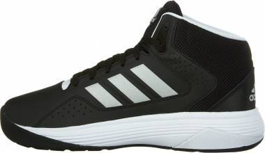 Adidas Cloudfoam Ilation Mid - Black Metallic Silver White