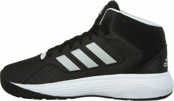 new arrivals 50f15 cc404 Adidas Cloudfoam Ilation Mid Black Metallic Silver White