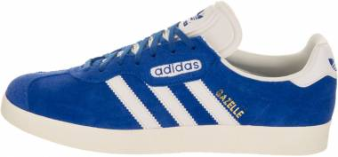 Adidas Gazelle Super - Azul Blue Vintage White St Gold Met (BB5241)