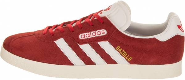 new style 004d1 f77d6 Adidas Gazelle Super Red (Red Vintage White -St Gold Met.)