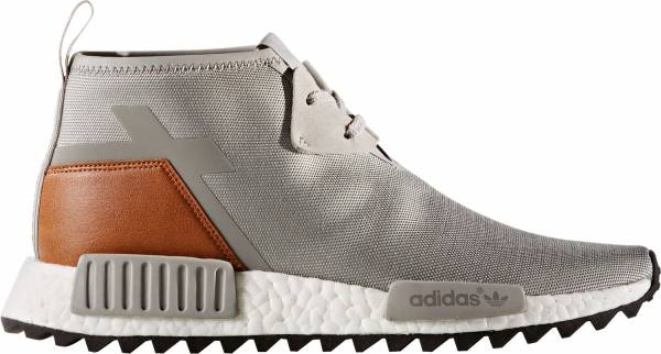 Adidas NMD R1 Runner Boost Beige Mesh Mens Womens Trainers