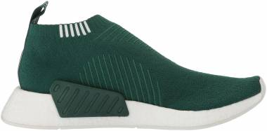 Adidas NMD_CS2 Primeknit - Collegiate Green/White/Crystal White