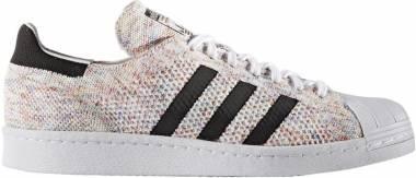 Adidas Superstar 80s Primeknit - White