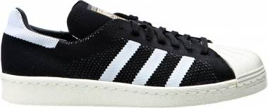 Adidas Superstar 80s Primeknit - Black