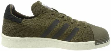 Adidas Superstar 80s Primeknit - Green