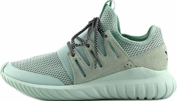 white adidas tubular shoes
