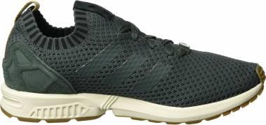 Adidas ZX Flux Primeknit Grey (Utility Ivy/Utility Ivy/Gum) Men