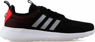 Adidas Cloudfoam Lite Racer - Black Core Black Grey Two F17 Hi Res Red S18 (B42183)