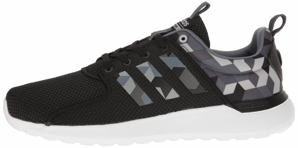 reputable site f718a 66395 Adidas Cloudfoam Lite Racer Black Onix Dark Grey Heather