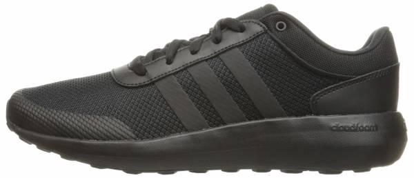 black adidas shoes cloudfoam