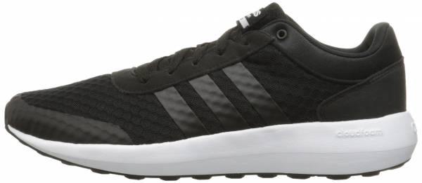 timeless design 3f9b2 9696d Adidas Cloudfoam Race Black