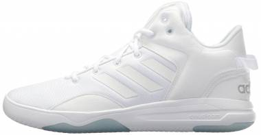 Adidas Cloudfoam Revival Mid White/White/Grey Two Men