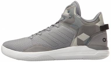 Adidas Cloudfoam Revival Mid - Grey Grey Black