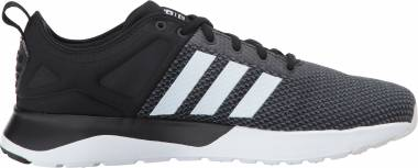 Adidas Cloudfoam Super Racer - Black/White/Grey Five