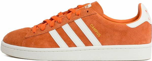 adidas campus rouge homme