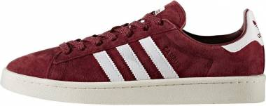 Adidas Campus - Red (Collegiate Burgundy/Footwear White/Chalk White) (BB0079)