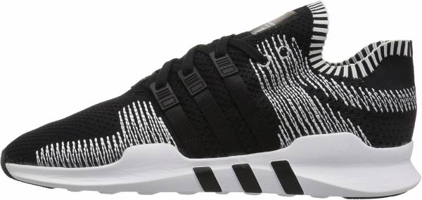 official photos b012d 47586 Adidas EQT Support ADV Primeknit Black Black White