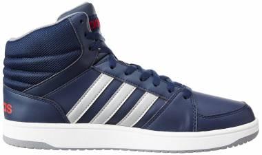 Adidas Hoops VS Mid - Azul Maruni Plamat Rojpot