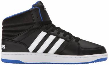 Adidas Hoops VS Mid - Black White Blue
