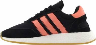 Adidas Iniki Runner - Core Black Semi Flash Orange