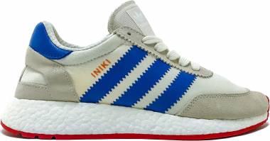 Adidas Iniki Runner - Cwhite/Cblue/Cred (BB2093)