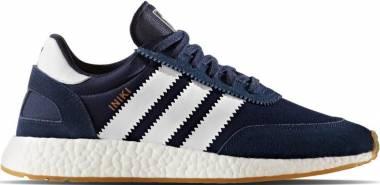 Adidas Iniki Runner - Blue Collegiate Navy Ftwr White Gum 3 (BY9729)