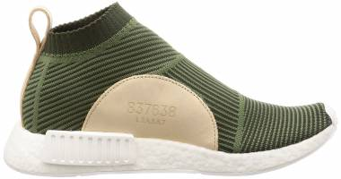 Adidas NMD_CS1 Primeknit - Night Cargo / Base Green / Cloud White