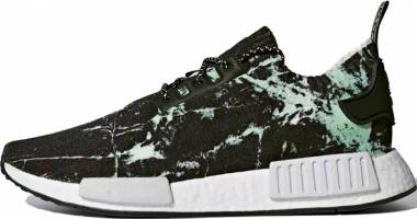 Adidas NMD_R1 Primeknit black, white-green Men