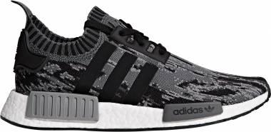 Adidas NMD_R1 Primeknit - Black White Grey