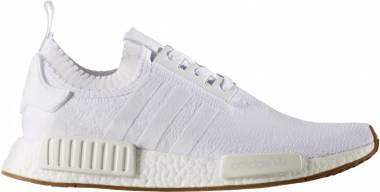 Adidas NMD_R1 Primeknit - White