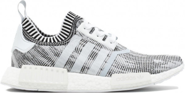 7d163a5631496 Adidas NMD R1 Wool Black White 3M STRIPES SIZE 8 D