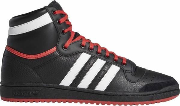 Adidas Top Ten Hi - Noir Blanc Rouge Vif (EF6365)