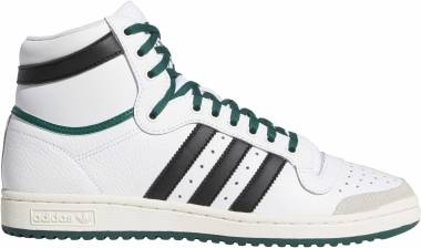 Adidas Top Ten Hi - Footwear White / Core Black / Collegiate Green
